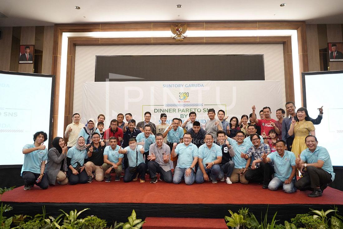 Suntory Garuda Loyalti Partner Gathering Palembang 2020