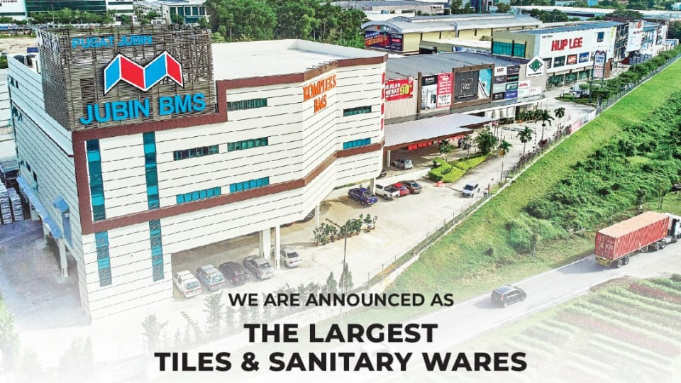 Largest tile and sanitary wares showroom in Malaysia
