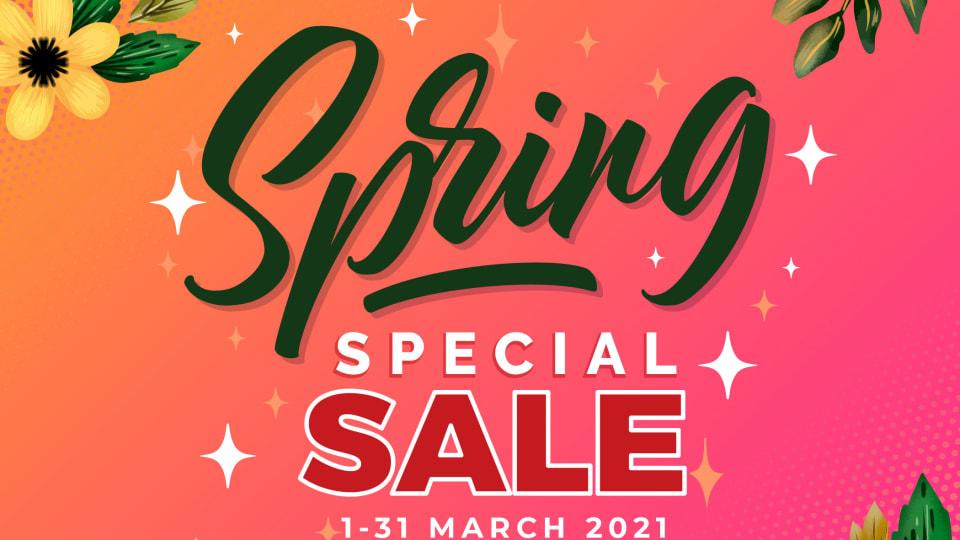 Special Spring Sales