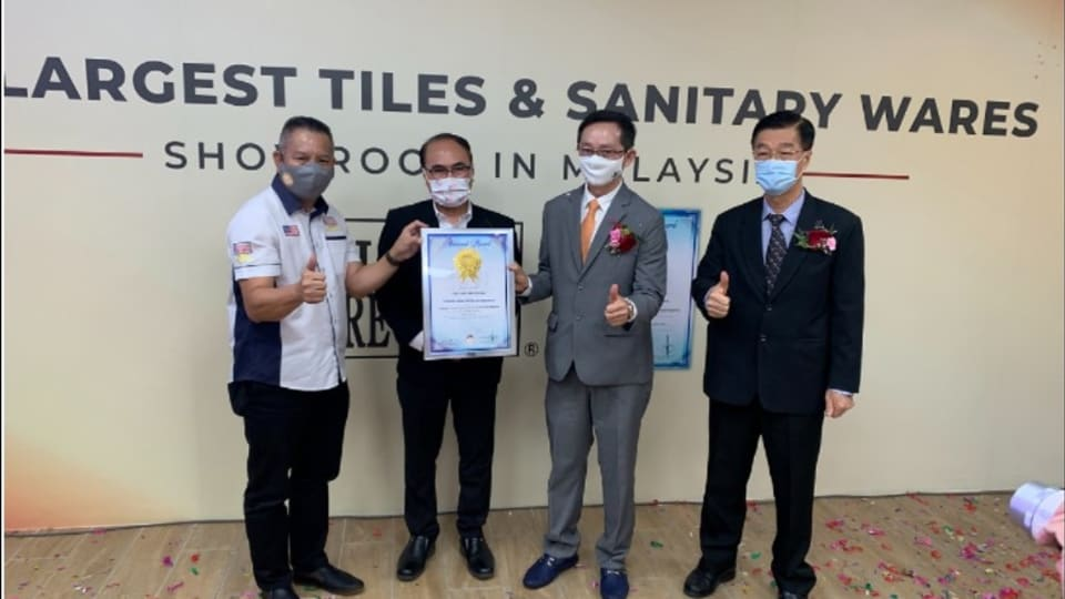 JubinBMS launches Malaysia's largest tiles, sanitary ware showroom by NST Online