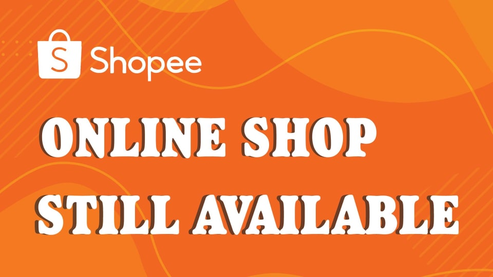 We are now availabe on Shopee
