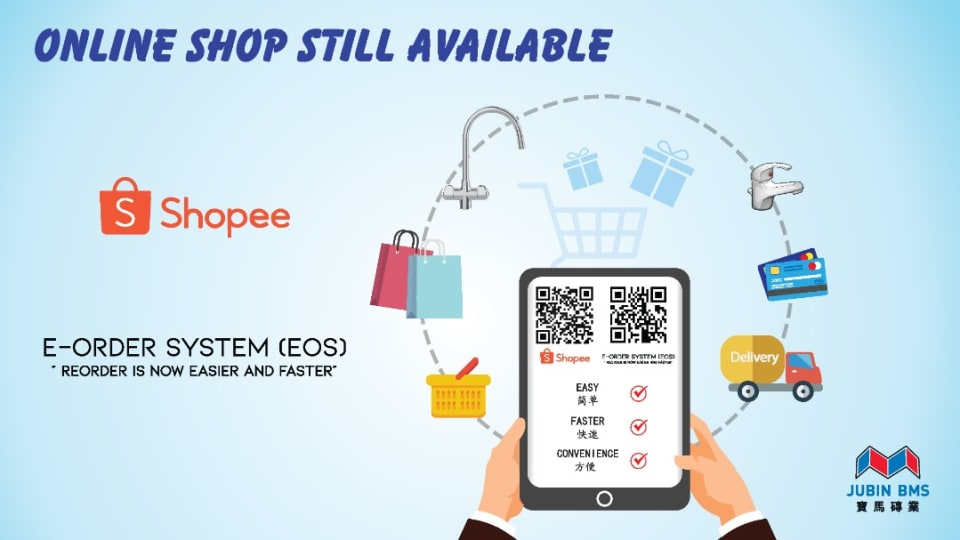 STAY WITH US ON SHOPEE