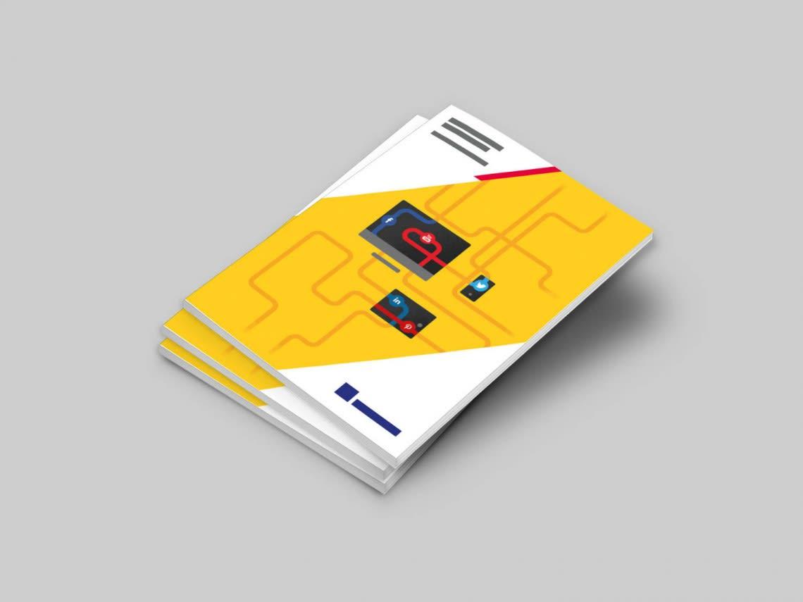Guide des réseaux sociaux – Couverture Direction Artistique,Illustration,Print,Social Media