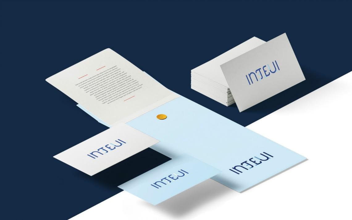 Identité visuelle Inteji Direction Artistique,Identité,Logo,Conception