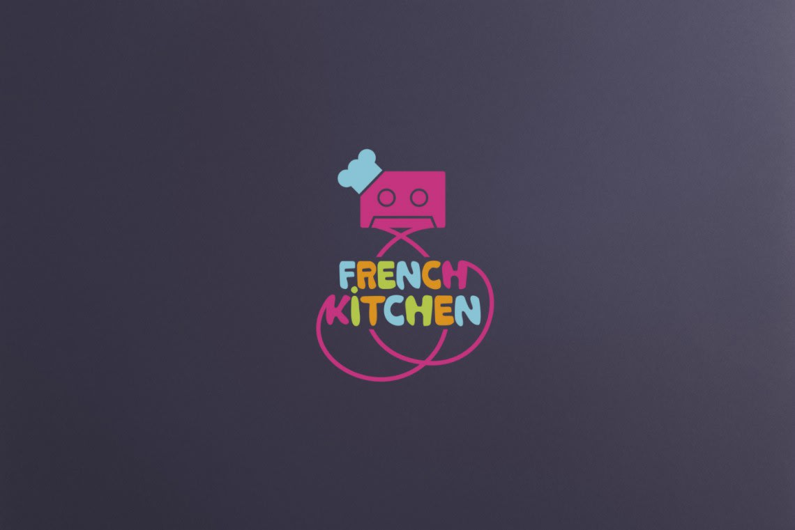 Logo French Kitchen Direction Artistique,Identité,Print,Conception,Logo