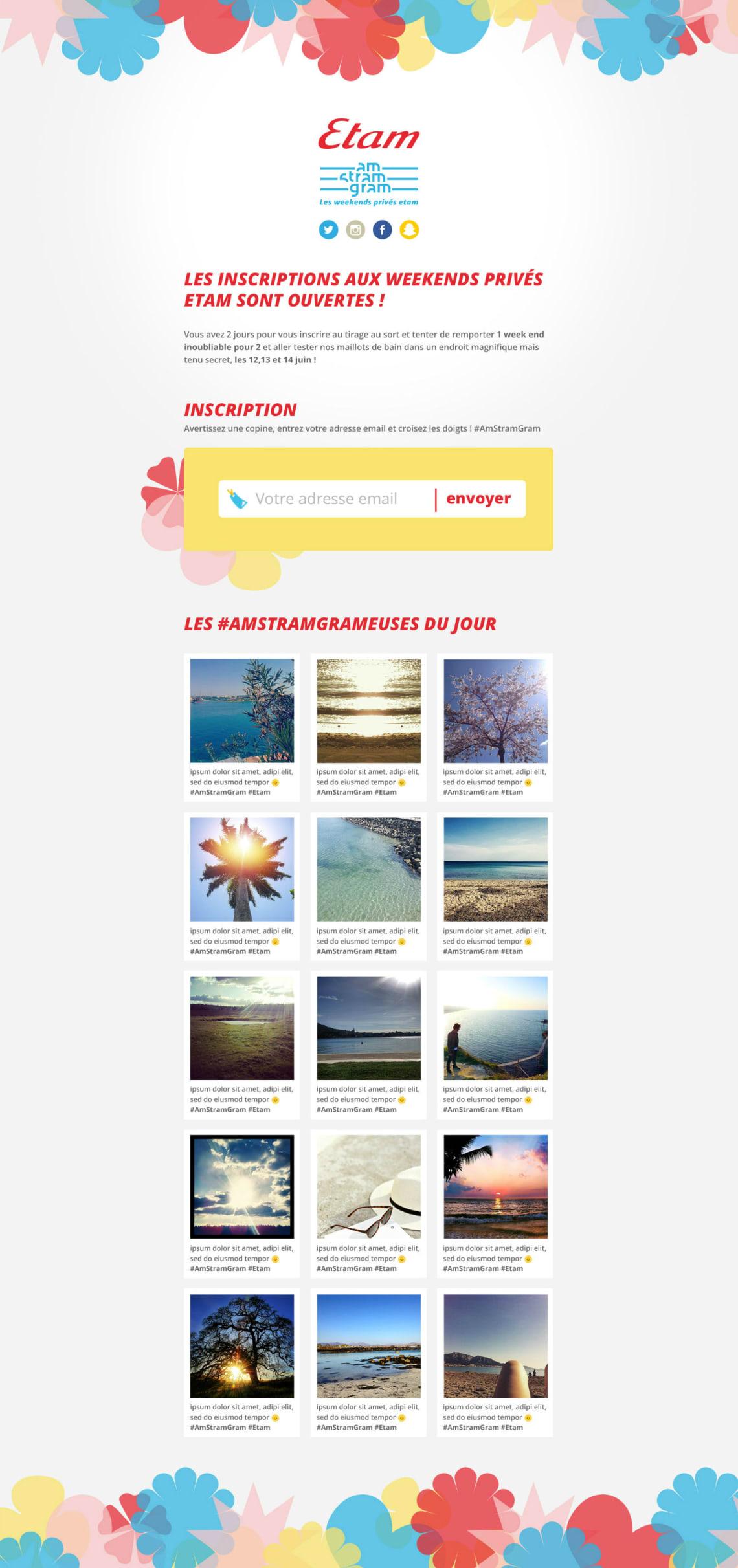 Am-stram-gram Conception,Identité,Direction Artistique,Webdesign,Conseil,Social Media,Logo
