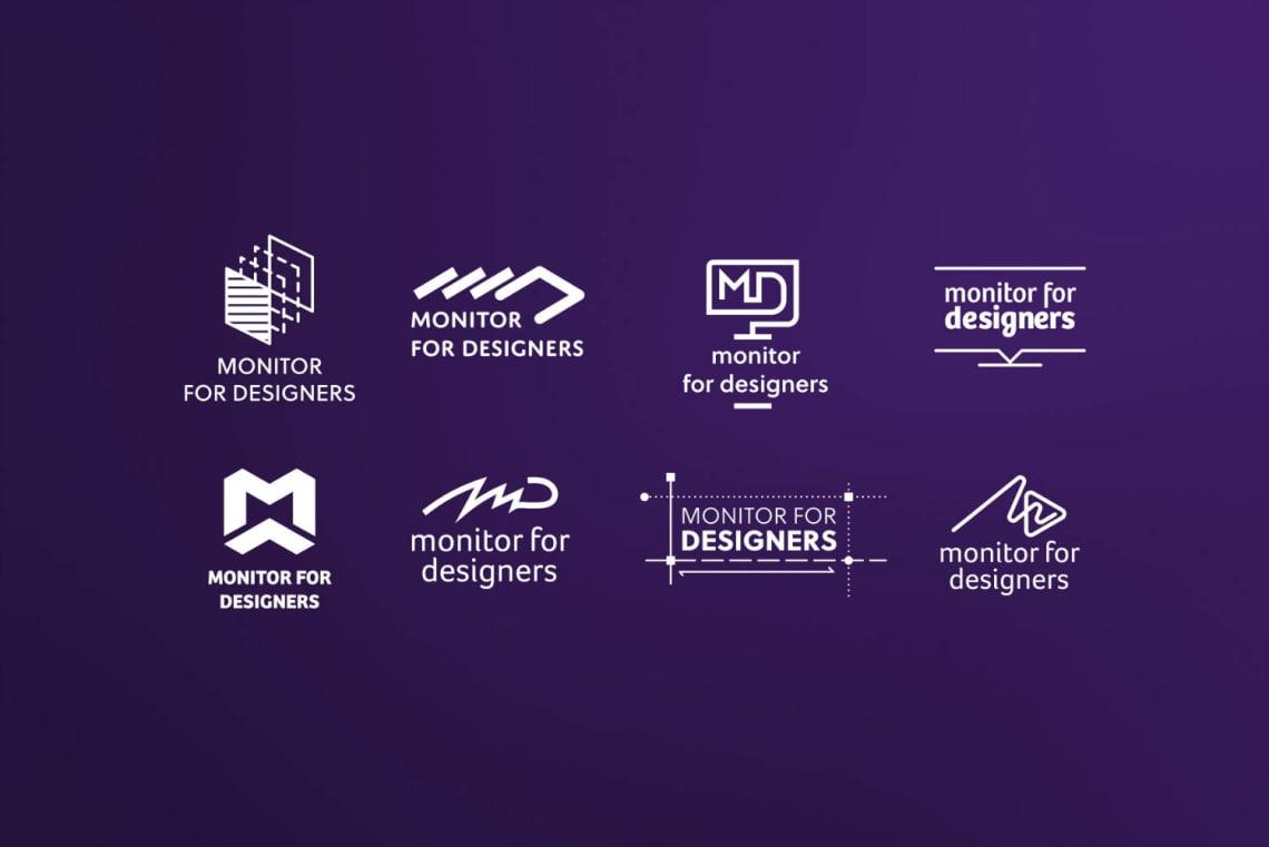 Monitor for designers Direction Artistique,Identité,Logo,Conception