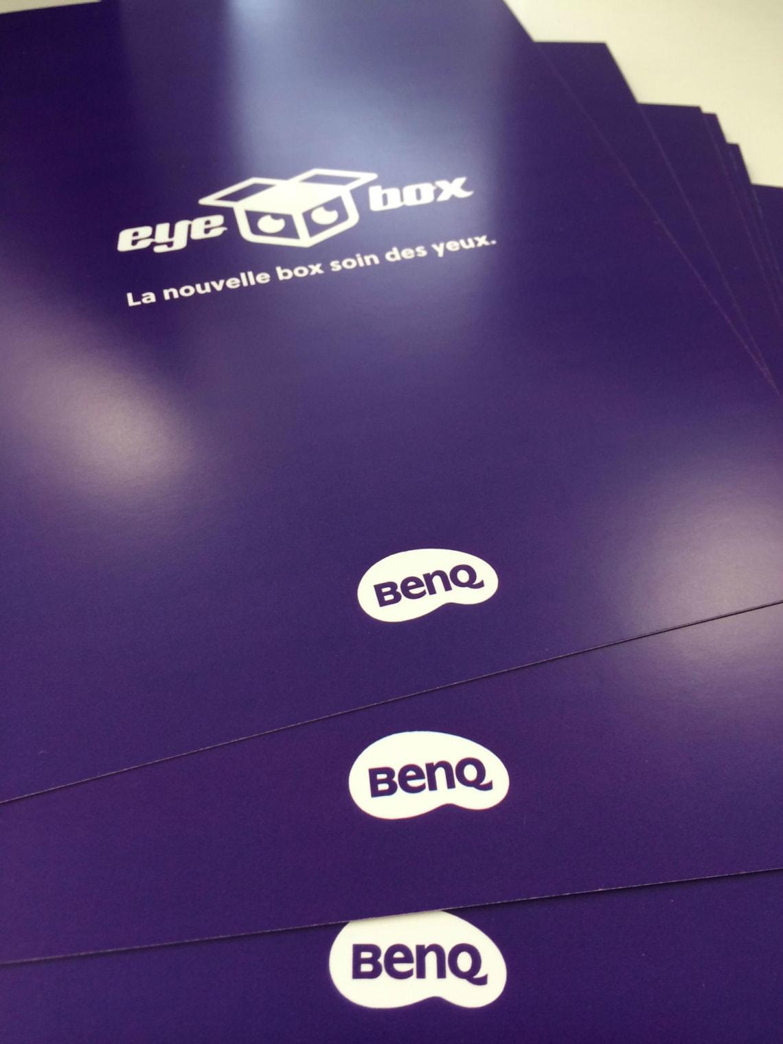 BenQ – Eyebox Conception,Direction Artistique,Identité,Social Media,Print,Logo