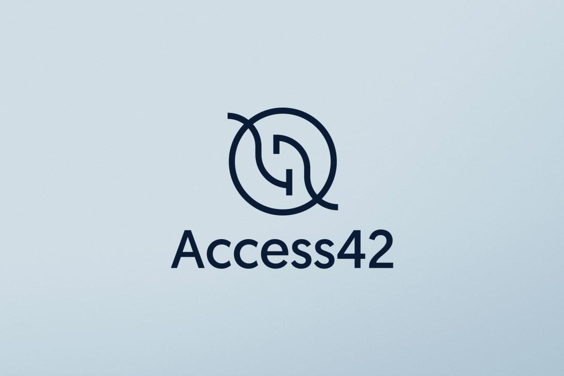 Identité Access42 Direction Artistique,Identité,Logo,Conception