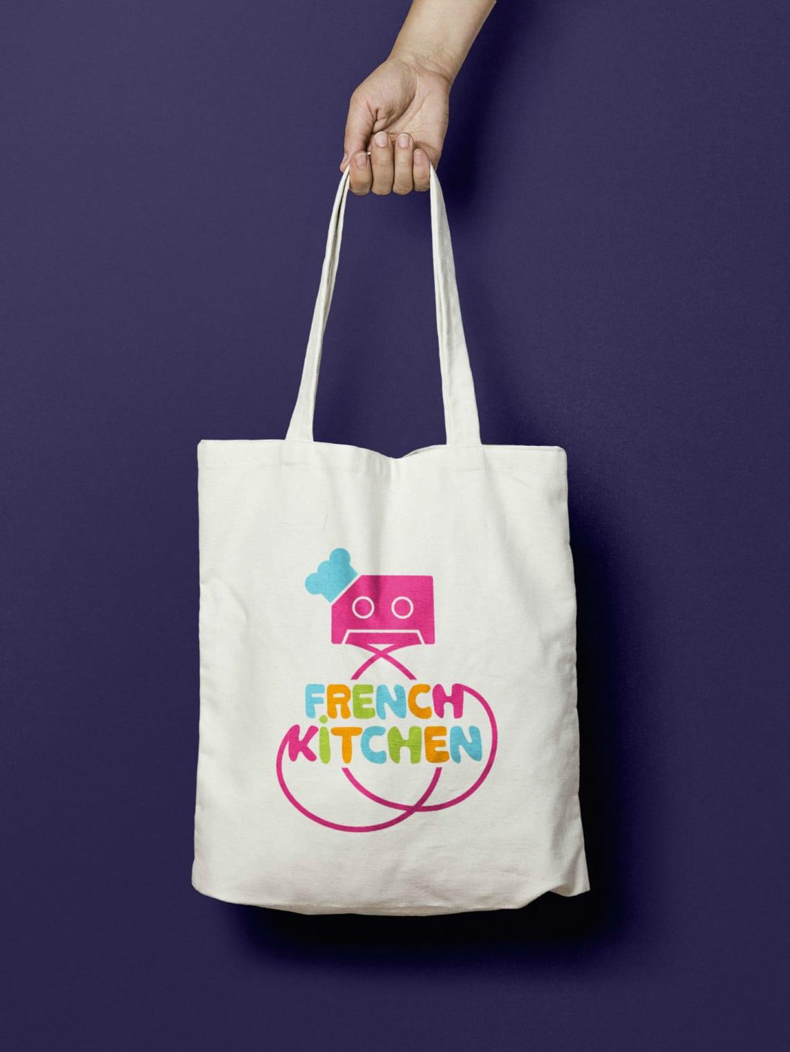 Logo French Kitchen Direction Artistique,Identité,Print,Conception,Logo