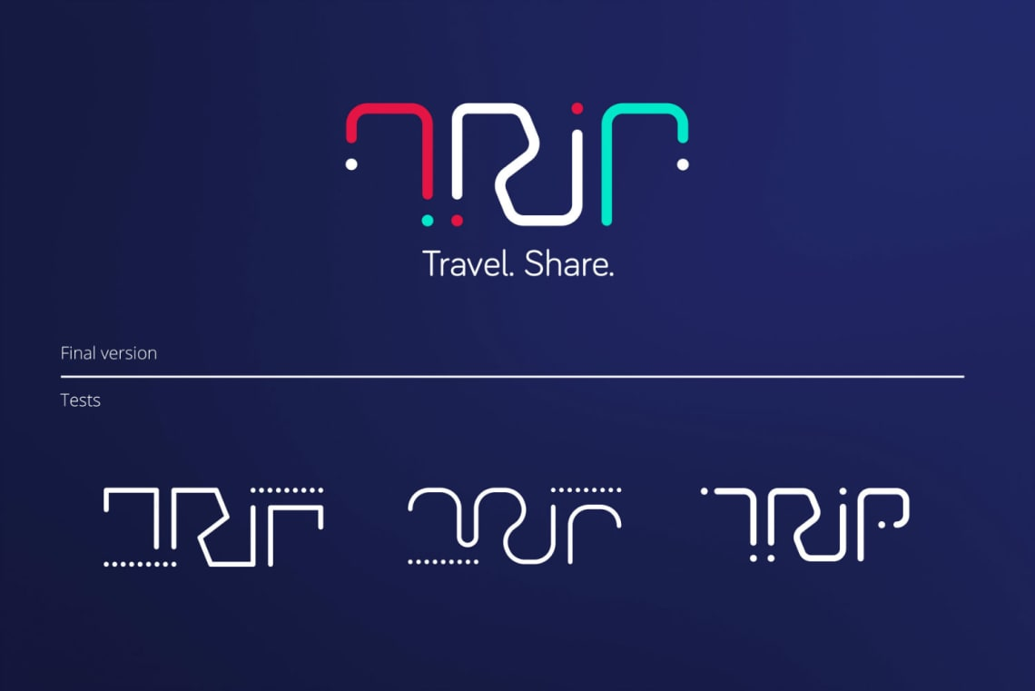 Trip – Identité visuelle Conception,Identité,Logo,Direction Artistique