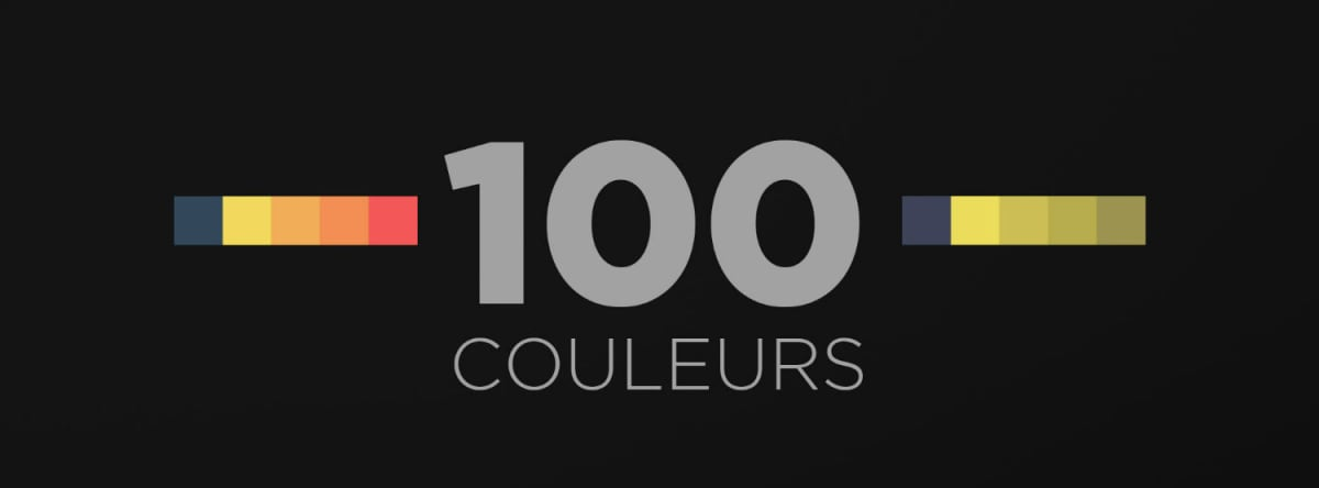 100 couleurs