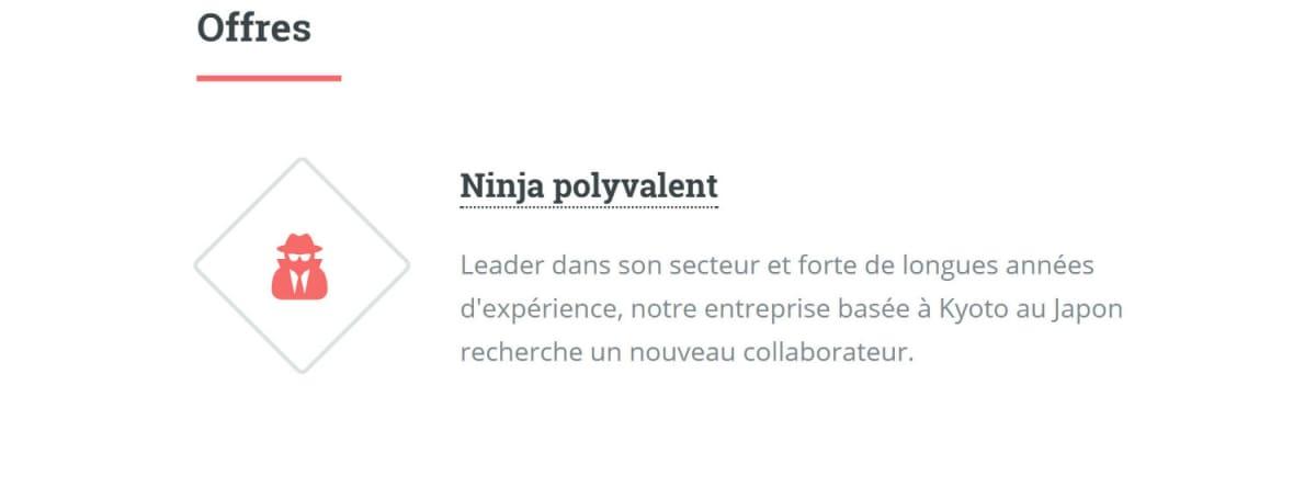 Bourse à l'emploi Frenchtech
