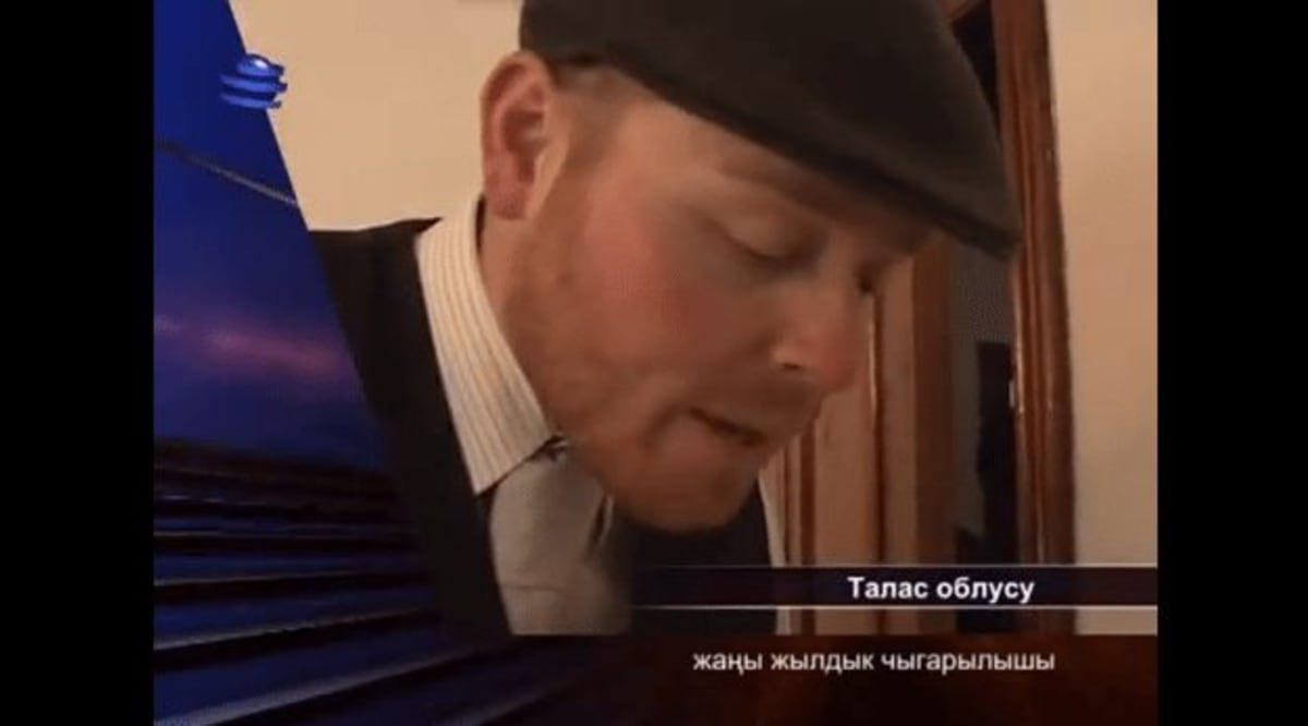 Peace Corps Volunteers on Kyrgyz National Television OTPK