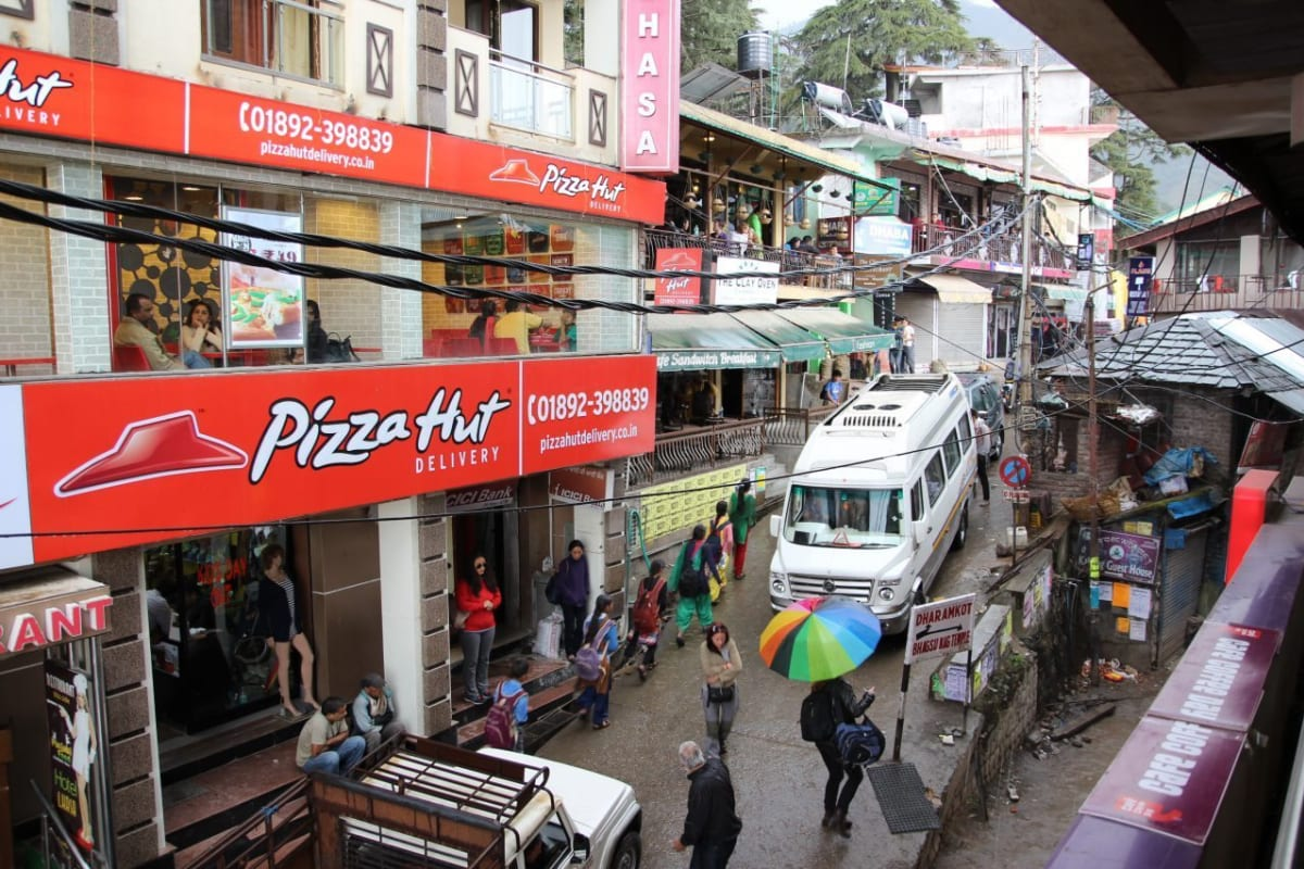 The Main Intersection of Dharamshala India