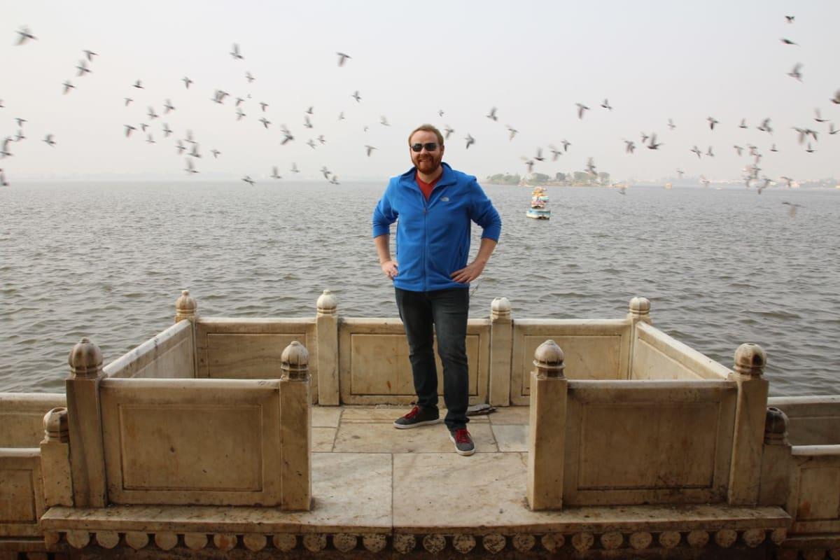 Ajmer-Rajasthan-India-Ana-Sagar-Lake