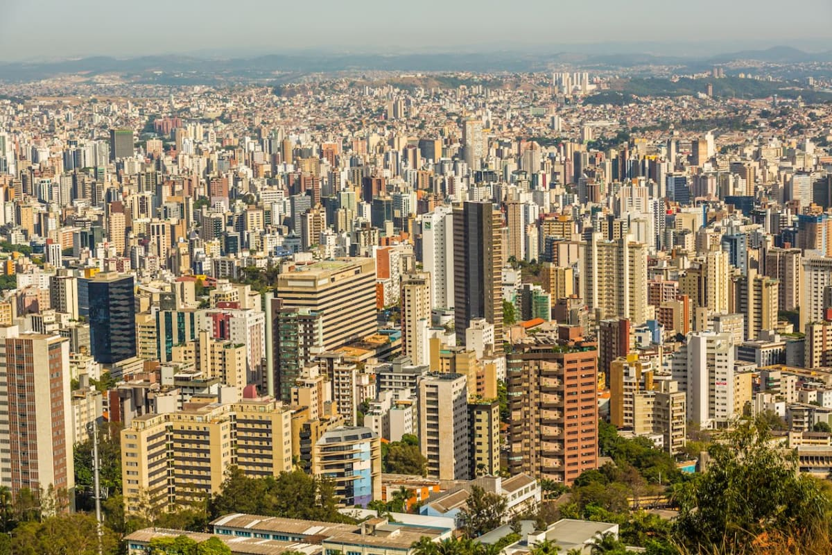 Arquitetura, Belo Horizonte, Brasil, Minas Gerais, Panorâmica