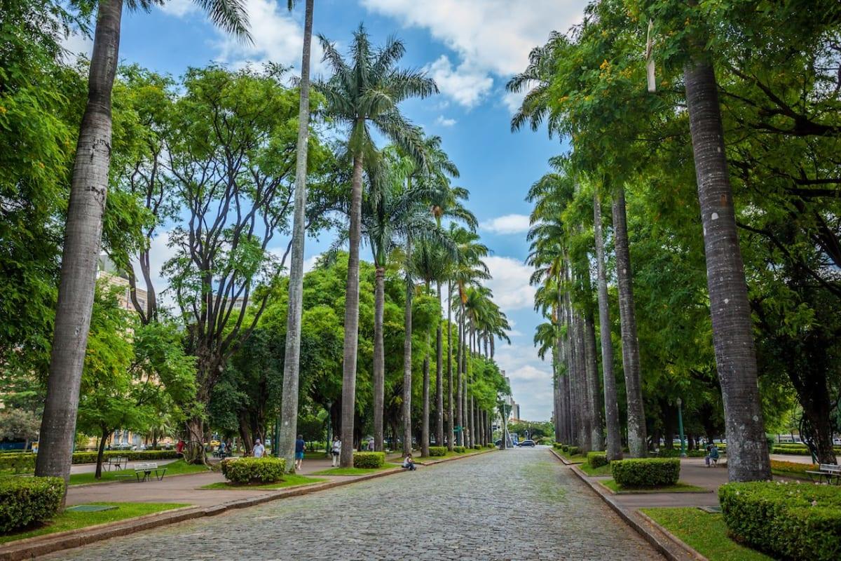 Belo Horizonte, Brasil, Minas Gerais, Praça da liberdade | Courtesy of Embratur Image Bank