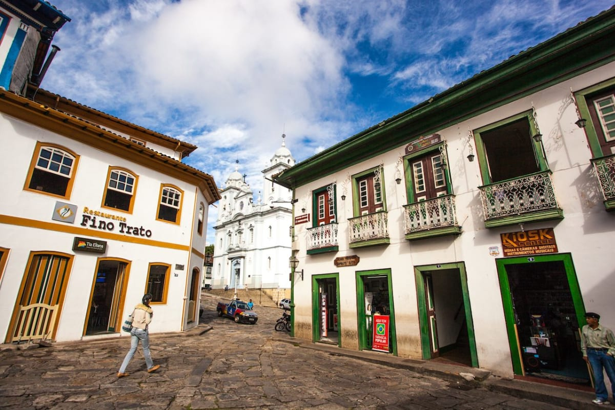 Diamantina Brazil is a sleepy town with a party spirit