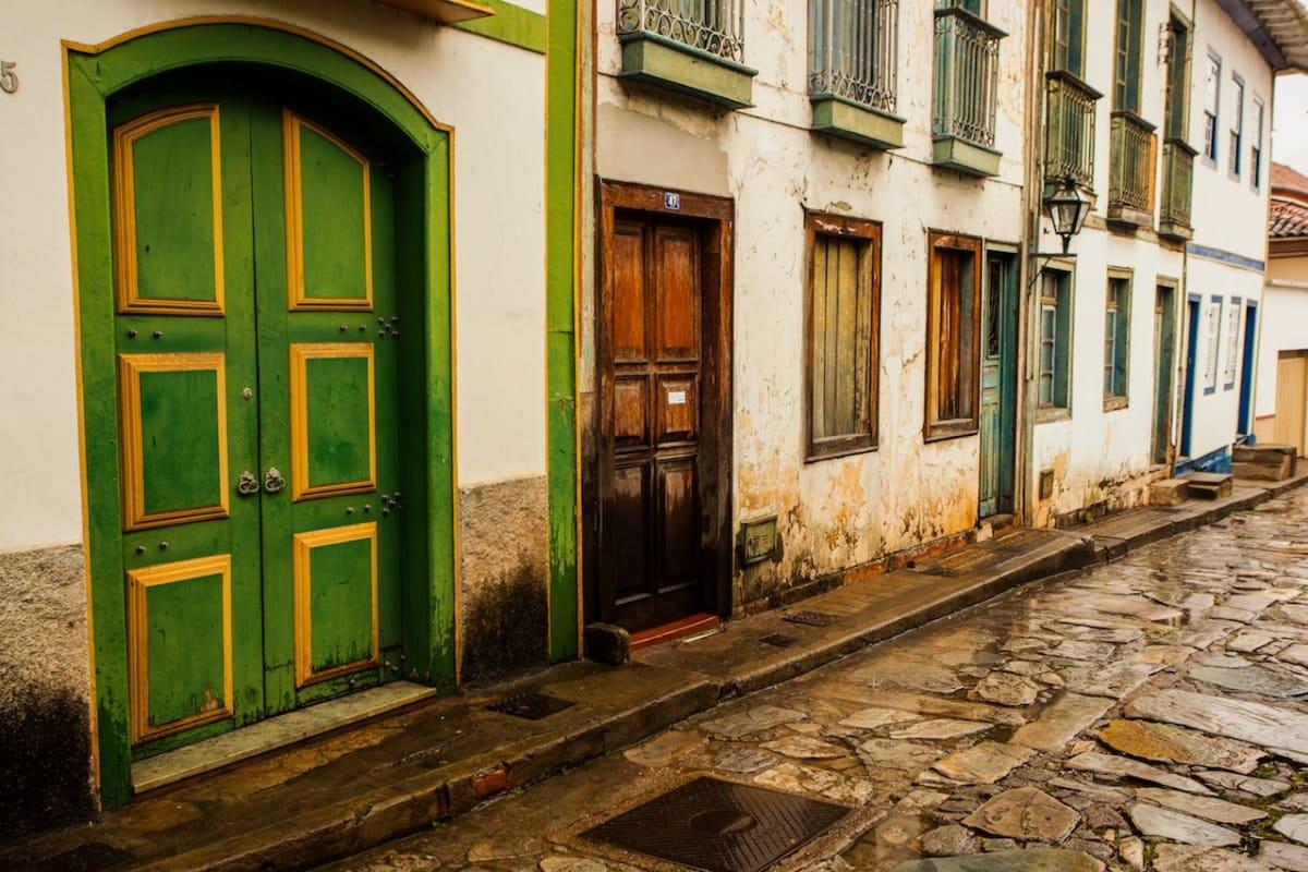 Diamantina, Minas Gerais, Brazil, Street Scene