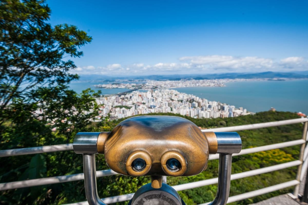 Beach, innovation, and majestic views. Welcome to Florianopolis, Brazil.