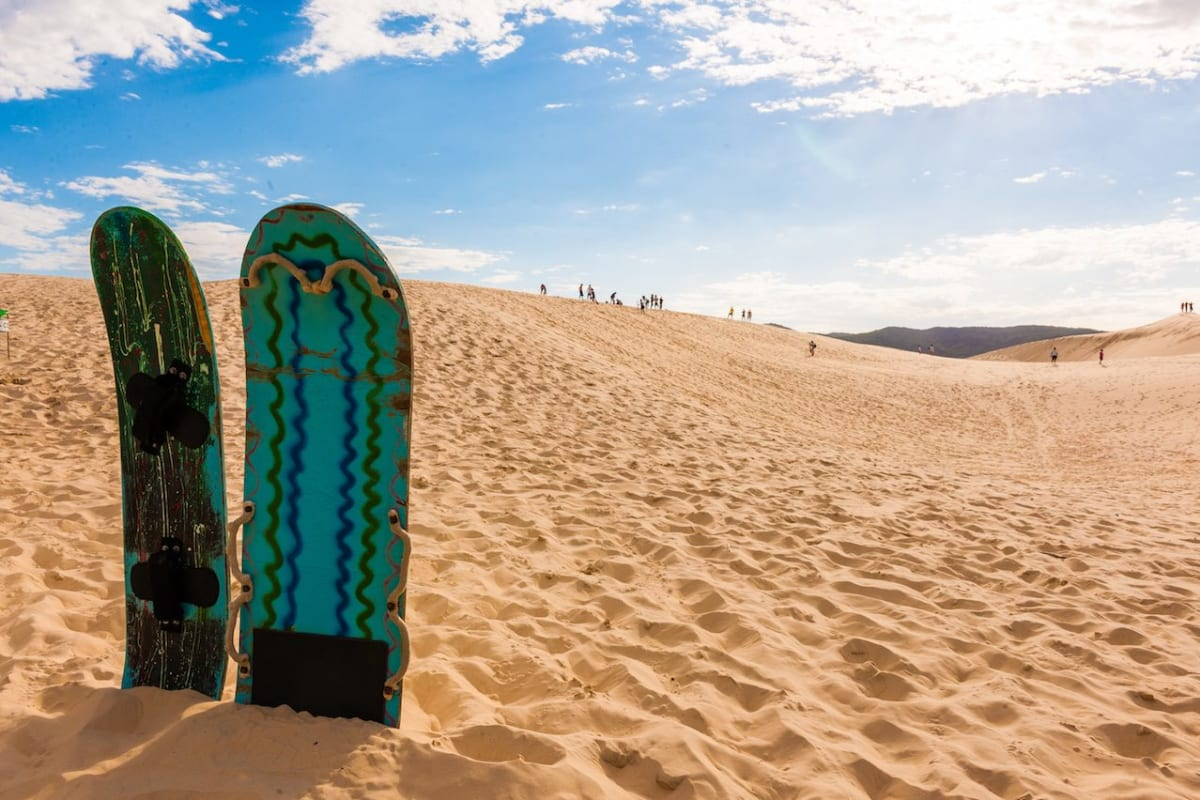 Florianopolis, Santa Catarina Brazil, Joaquina Beach Sandboard