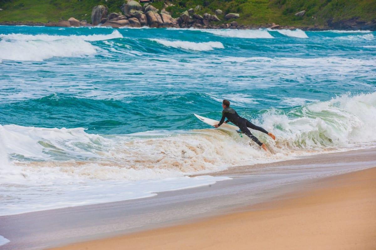 Florianopolis, Santa Catarina Brazil, Mole Beach