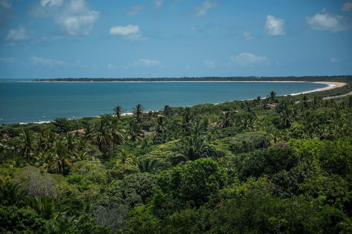 Porto Seguro, Bahia, Brazil, Beach Panoramic
