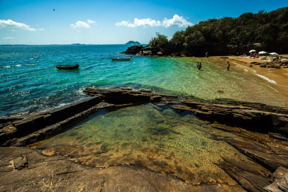Beach of Buzios, Brazil