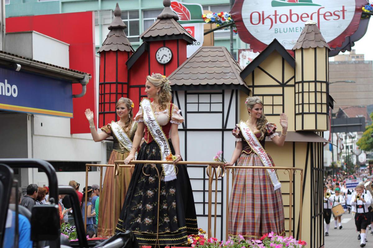 Blumenau Brazil Oktoberfest