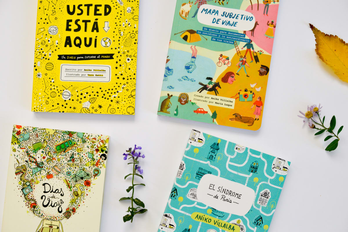 Photo of Aniko Villalba books, El Sindrom de Paris and Dias de Viaje
