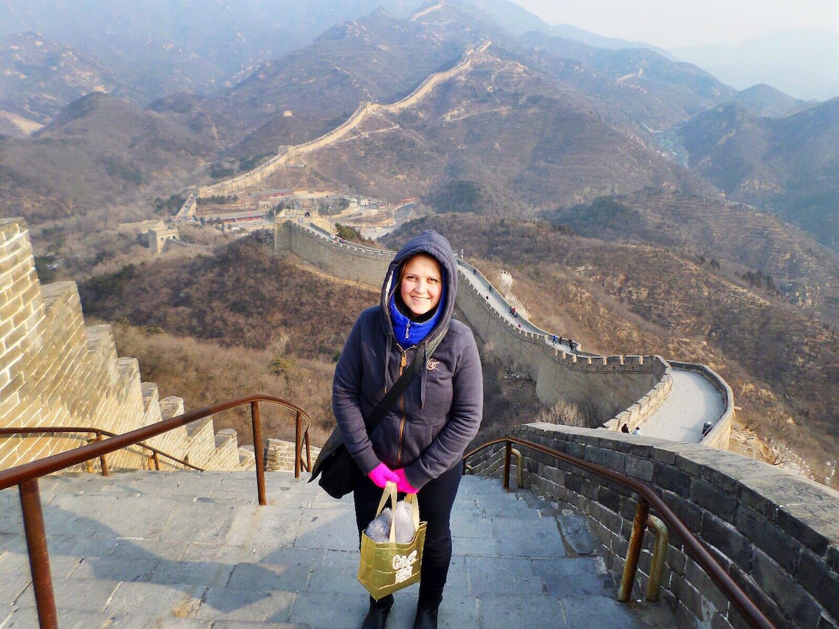 What happened when I traveled alone in Beijing