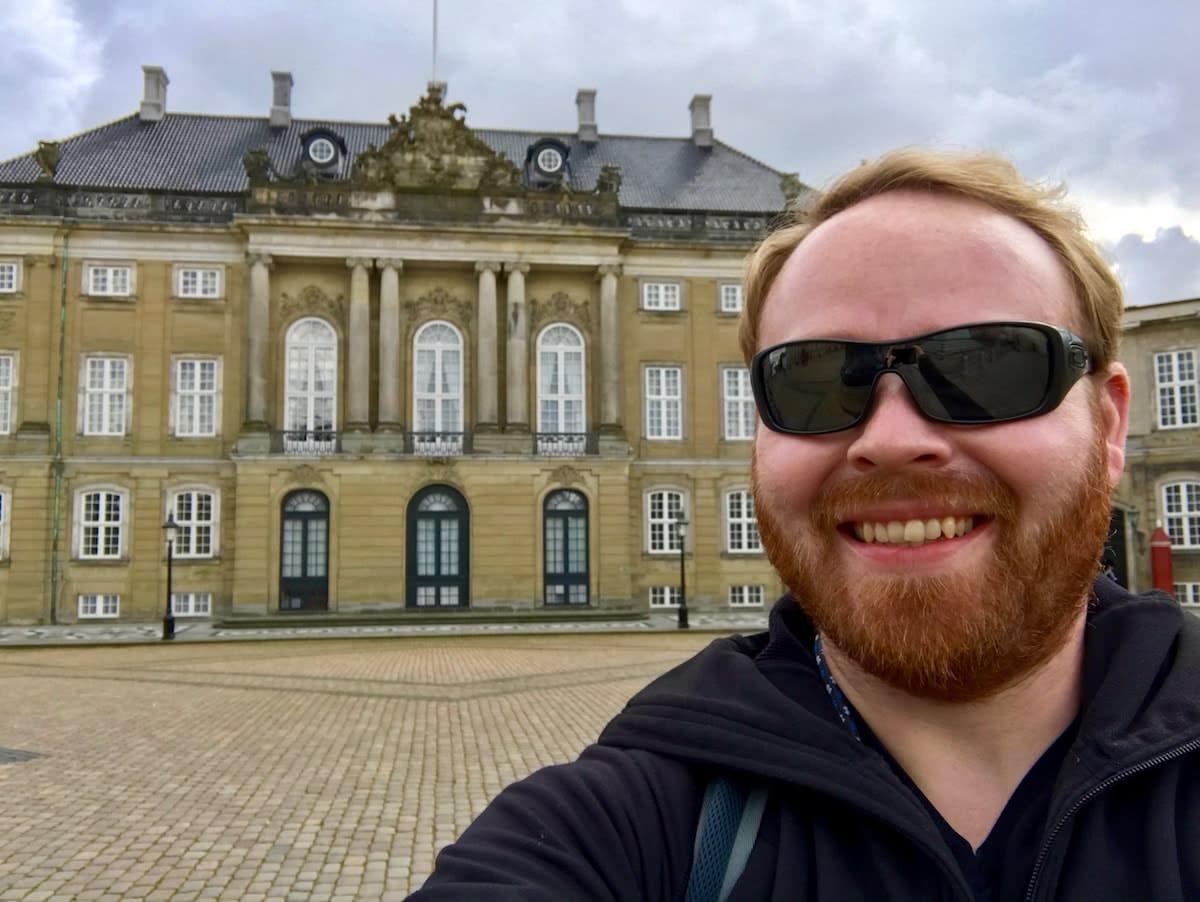 The Dutch Queen's residence in Copenhagen