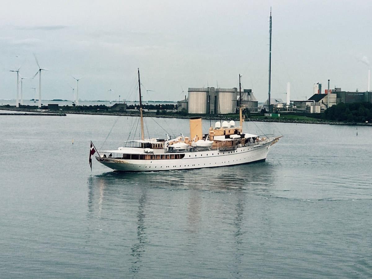 The Dutch Royal Yacht