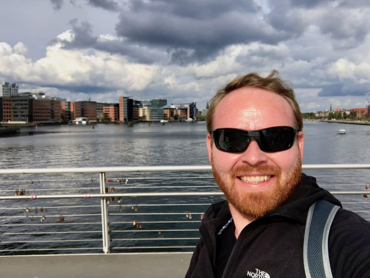 The Copenhagen skyline behind me