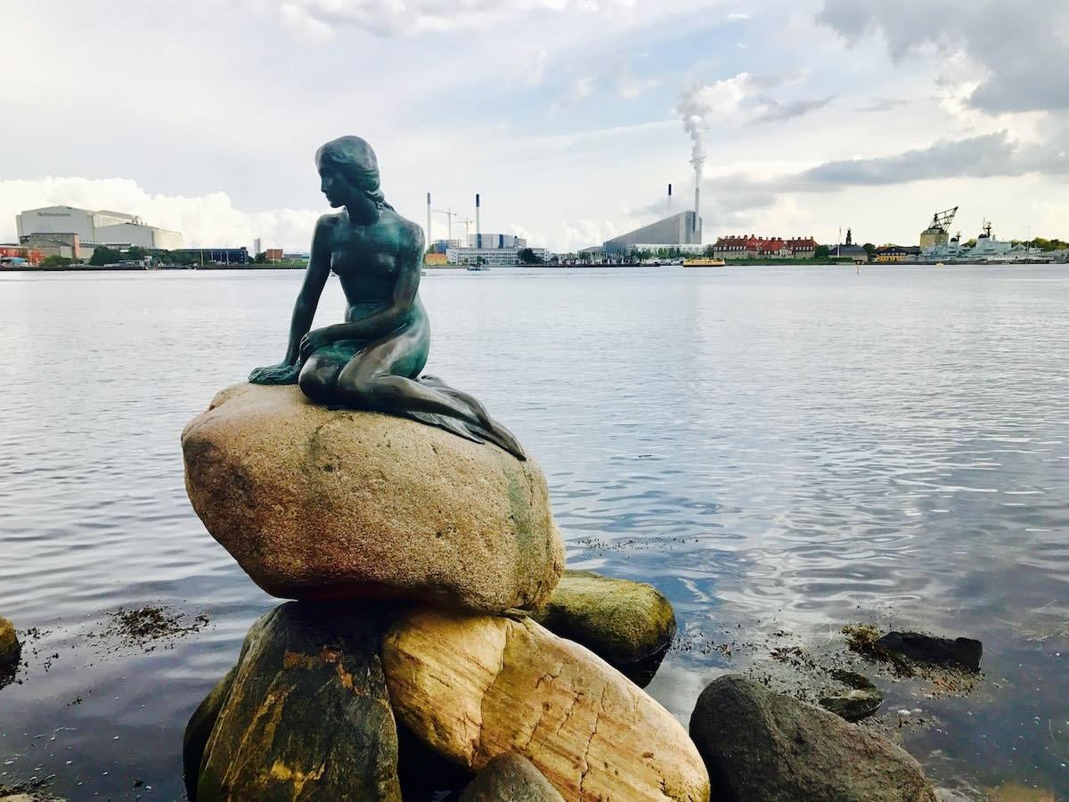 The Mermaid, in Copenhagen
