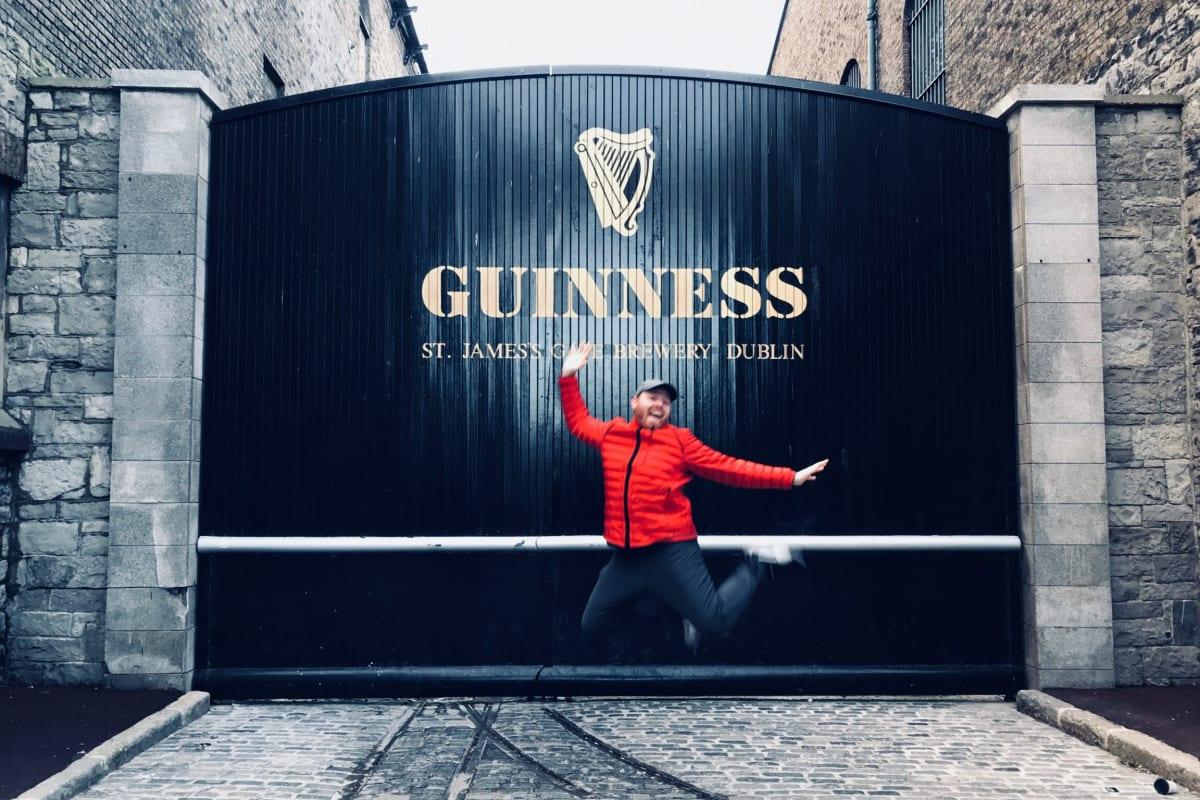 Visiting the Guinness Storehouse in Dublin