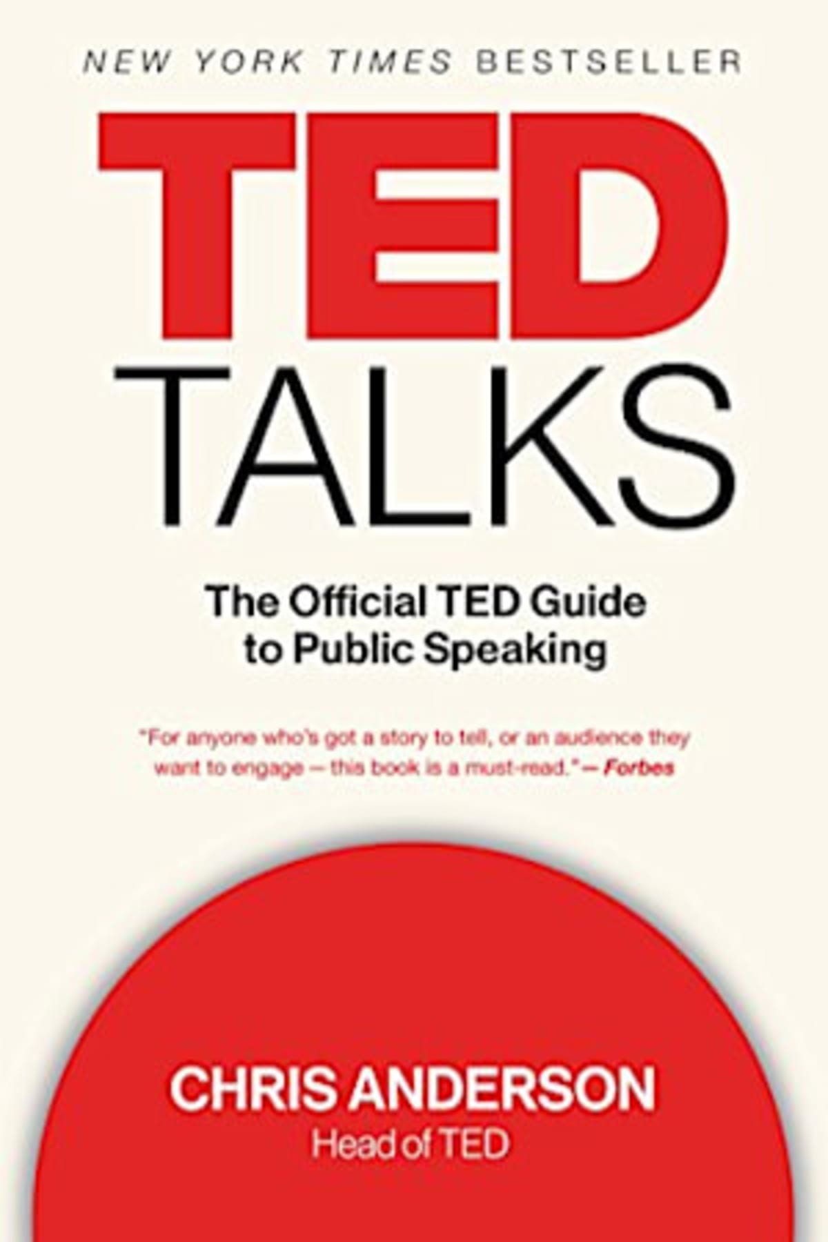 Book cover of TED Talks by Chris Anderson