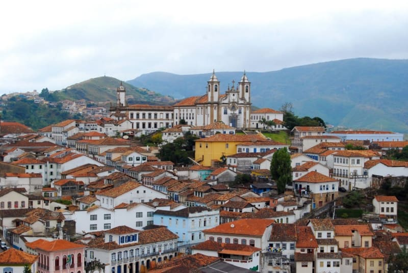 Ouro Preto Brazil is the heart of Brazil, Revolution, and an economic explosion