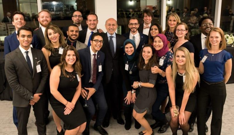 Mario D. Fantini Scholarship recipients together