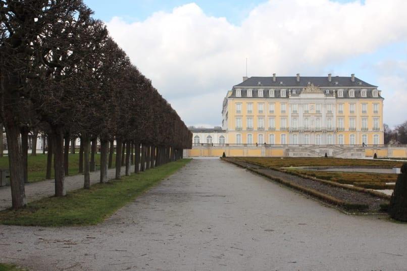 Augustusburg Palace in Brühl Germany