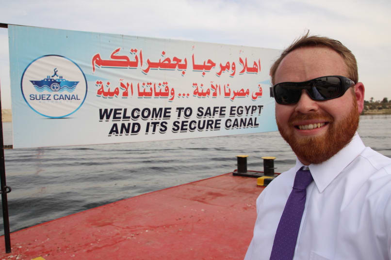 Welcome to safe Egypt and its secure Canal