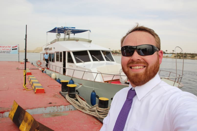 How to visit the Suez Canal in a presidential yacht