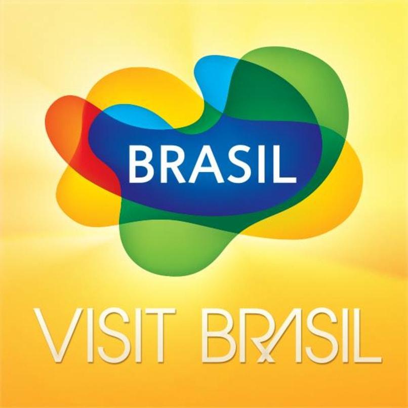Logo of visitbrasil.com, the Official Brazillian Tourism Website