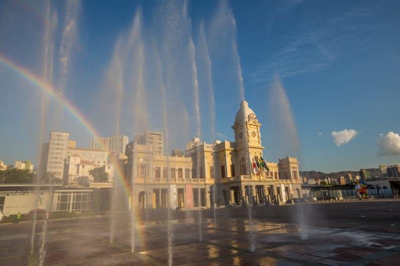 Belo Horizonte, Brasil, Minas Gerais, Palácio de artes e ofícios