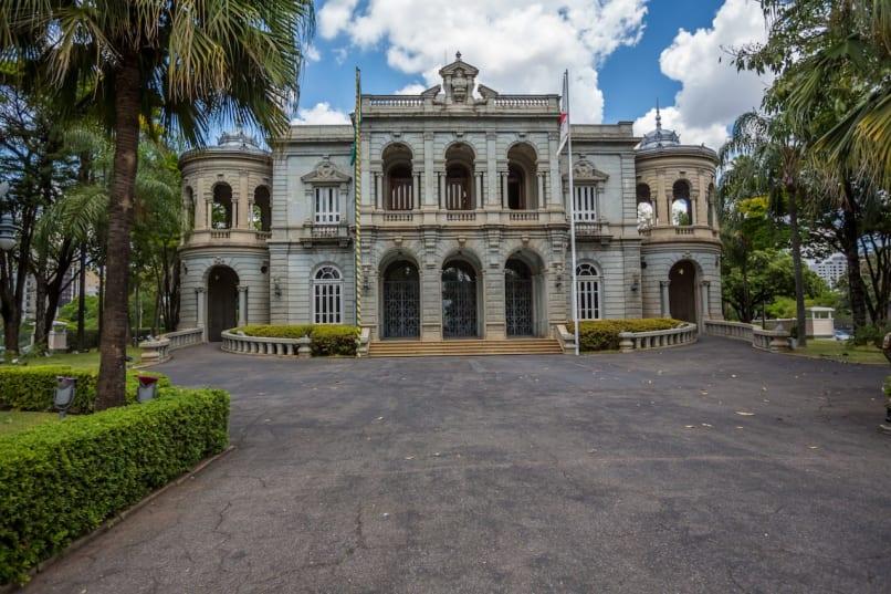 Belo Horizonte, Brasil, Minas Gerais, Palácio da Liberdade
