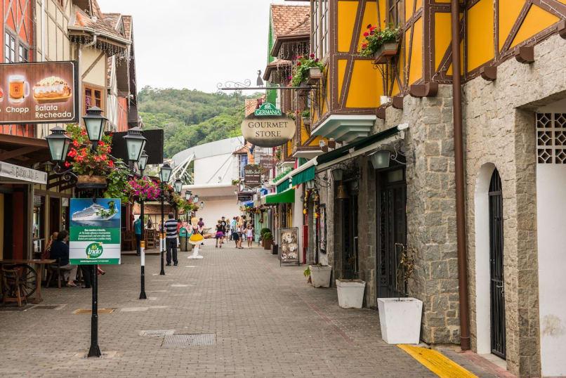Blumenau, Santa Catarina, Brazil, Street Scene