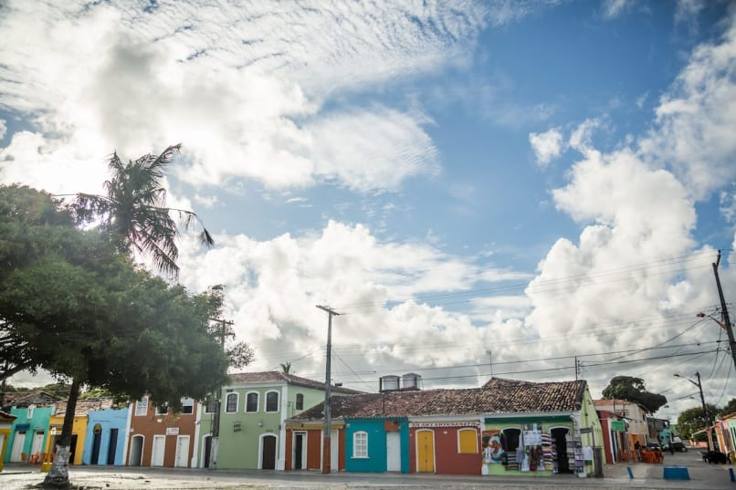 Porto Seguro, Bahia, Brazil, Historic Center Clouds