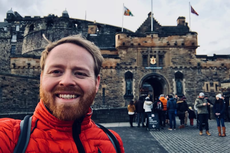 Edinburgh Castle Walking Tour