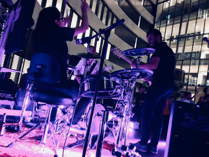 Carmencitas performs at the trivagoVibe in Düsseldorf